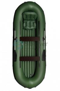 Лодка ПВХ Кантегир 380 НД надувная гребная